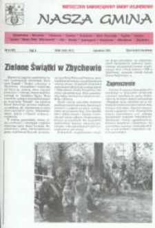 Nasza Gmina. Miesięcznik Samorządowy Gminy Wejherowo, 1997, czerwiec, Nr 6 (16)