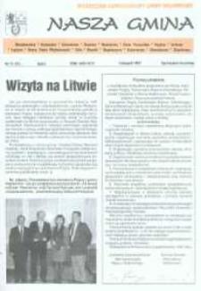 Nasza Gmina. Miesięcznik Samorządowy Gminy Wejherowo, 1997, listopad, Nr 11 (21)