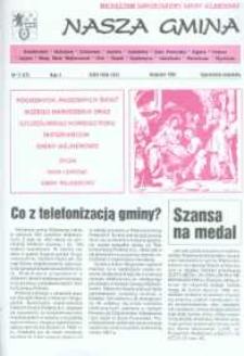 Nasza Gmina. Miesięcznik Samorządowy Gminy Wejherowo, 1997, grudzień, Nr 12 (22)