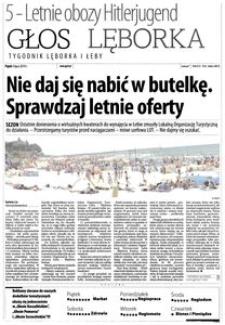Głos Lęborka : tygodnik Lęborka i Łeby, 2014, lipiec, nr 153