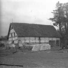 XVIII-wieczny spichlerz dworski - Luzino