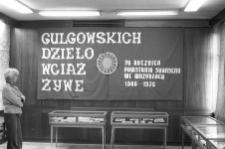 Wystawa pamiątek po Gulgowskich - założycielach muzeum kaszubskiego we Wdzydzach