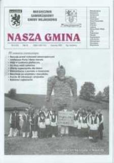 Nasza Gmina. Miesięcznik Samorządowy Gminy Wejherowo, 2002, czerwiec, Nr 6 (73)