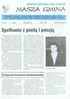 Nasza Gmina. Miesięcznik Samorządowy Gminy Wejherowo, 1998, styczeń, Nr 1 (23)