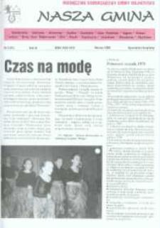Nasza Gmina. Miesięcznik Samorządowy Gminy Wejherowo, 1998, marzec, Nr 3 (25)