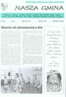 Nasza Gmina. Miesięcznik Samorządowy Gminy Wejherowo, 1998, kwiecień, Nr 4 (26)