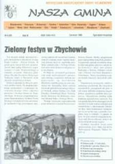 Nasza Gmina. Miesięcznik Samorządowy Gminy Wejherowo, 1998, czerwiec, Nr 6 (28)