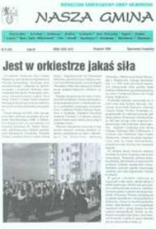 Nasza Gmina. Miesięcznik Samorządowy Gminy Wejherowo, 1998, sierpień, Nr 8 (30)
