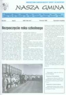 Nasza Gmina. Miesięcznik Samorządowy Gminy Wejherowo, 1998, wrzesień, Nr 9 (31)