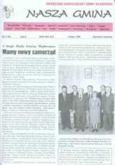 Nasza Gmina. Miesięcznik Samorządowy Gminy Wejherowo, 1998, listopad, Nr 11 (33)