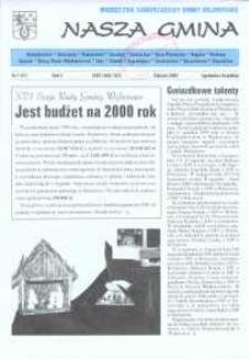 Nasza Gmina. Miesięcznik Samorządowy Gminy Wejherowo, 2000, styczeń, Nr 1 (47)