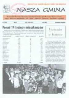 Nasza Gmina. Miesięcznik Samorządowy Gminy Wejherowo, 2000, luty, Nr 2 (48)