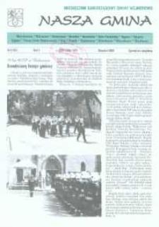 Nasza Gmina. Miesięcznik Samorządowy Gminy Wejherowo, 2000, sierpień, Nr 8 (54)