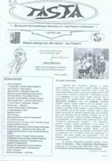Pasta. Miesięcznik Samorządowego Gimnazjum im. Jana Pawła II w Bolszewie, 2009, listopad
