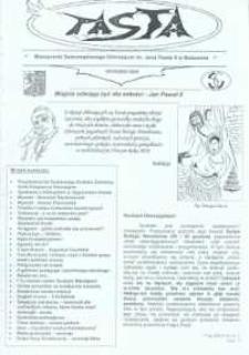 Pasta. Miesięcznik Samorządowego Gimnazjum im. Jana Pawła II w Bolszewie, 2009, grudzień