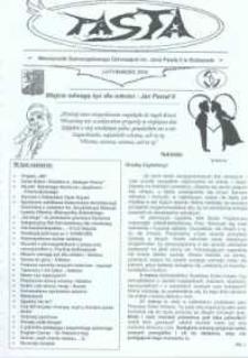 Pasta. Miesięcznik Samorządowego Gimnazjum im. Jana Pawła II w Bolszewie, 2010, luty/marzc