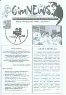 GimNEWS. Miesięcznik Samorządowego Gimnazjum im. Jana Pawła II w Bolszewie, 2011, styczeń/luty