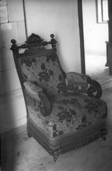 Fotel wyściełany - Wdzydze Kiszewskie