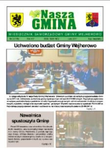 Nasza Gmina. Miesięcznik Samorządowy Gminy Wejherowo, 2011, luty, Nr 2 (176)