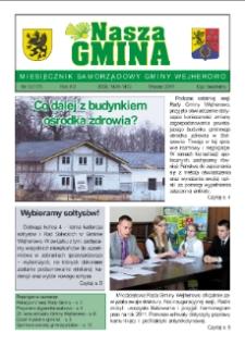 Nasza Gmina. Miesięcznik Samorządowy Gminy Wejherowo, 2011, marzec, Nr 3 (177)