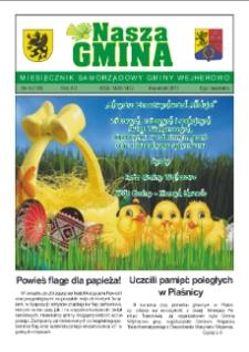Nasza Gmina. Miesięcznik Samorządowy Gminy Wejherowo, 2011, kwiecień, Nr 4 (178)