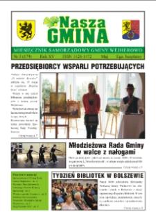 Nasza Gmina. Miesięcznik Samorządowy Gminy Wejherowo, 2011, maj, Nr 5 (179)
