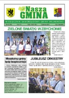 Nasza Gmina. Miesięcznik Samorządowy Gminy Wejherowo, 2011, czerwiec, Nr 6 (180)