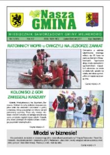 Nasza Gmina. Miesięcznik Samorządowy Gminy Wejherowo, 2011, lipiec/sierpień, Nr 7 (181)
