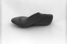 Kopyto szewskie z podbiciem, drewniane, do lewego buta