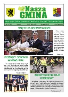 Nasza Gmina. Miesięcznik Samorządowy Gminy Wejherowo, 2011, wrzesień, Nr 8 (182)