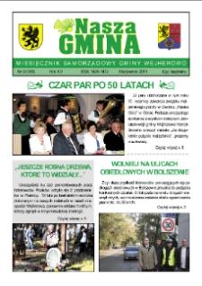 Nasza Gmina. Miesięcznik Samorządowy Gminy Wejherowo, 2011, październik, Nr 9 (183)