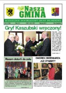 Nasza Gmina. Miesięcznik Samorządowy Gminy Wejherowo, 2012, styczeń, Nr 1 (186)