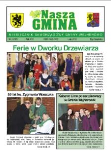Nasza Gmina. Miesięcznik Samorządowy Gminy Wejherowo, 2012, luty, Nr 2 (187)