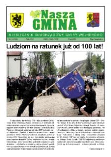 Nasza Gmina. Miesięcznik Samorządowy Gminy Wejherowo, 2012, maj, Nr 5 (190)