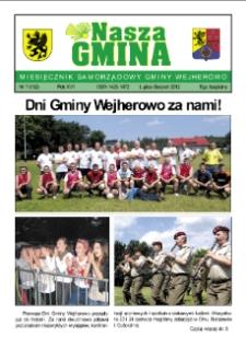 Nasza Gmina. Miesięcznik Samorządowy Gminy Wejherowo, 2012, lipiec/sierpień, Nr 7 (192)