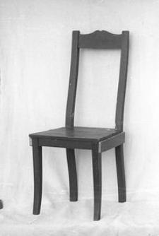Krzesło malowane - Wdzydze Kiszewskie
