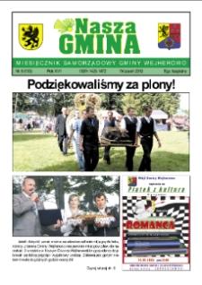 nasza Gmina. Miesięcznik Samorządowy Gminy Wejherowo, 2012, wrzesień, Nr 8 (193)