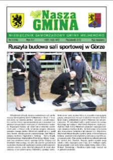 Nasza Gmina. Miesięcznik Samorządowy Gminy Wejherowo, 2012, październik, Nr 9 (194)
