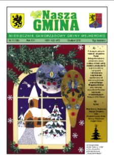 Nasza Gmina. Miesięcznik Samorządowy Gminy Wejherowo, 2012, grudzień, Nr 11 (196)