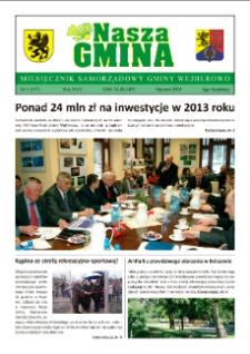 Nasza Gmina. Miesięcznik Samorządowy Gminy Wejherowo, 2013, styczeń, Nr 1 (197)
