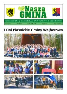Nasza Gmina. Miesięcznik Samorządowy Gminy Wejherowo, 2013, maj, Nr 5 (201)