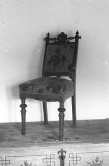 Krzesło wyściełane - Wdzydze Kiszewskie