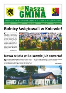 Nasza Gmina. Miesięcznik Samorządowy Gminy Wejherowo, 2013, wrzesień, Nr 8 (204)