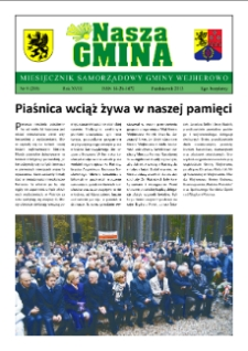 Nasza Gmina. Miesięcznik Samorządowy Gminy Wejherowo, 2013, październik, Nr 9 (205)