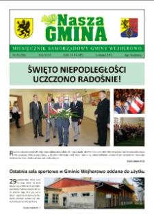 Nasza Gmina. Miesięcznik Samorządowy Gminy Wejherowo, 2013, listopad, Nr 10 (206)