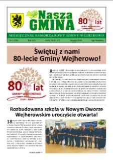 Nasza Gmina. Miesięcznik Samorządowy Gminy Wejherowo, 2014, styczeń, Nr 1 (208)