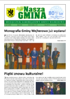 Nasza Gmina. Miesięcznik Samorządowy Gminy Wejherowo, 2014, luty, Nr 2 (209)