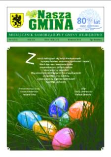 Nasza Gmina. Miesięcznik Samorządowy Gminy Wejherowo, 2014, kwiecień, Nr 4 (211)