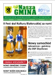 Nasza Gmina. Miesięcznik Samorządowy Gminy Wejherowo, 2014, maj, Nr 5 (212)
