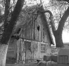 Chałupa konstrukcji zrębowej z XVIII/XIX wieku - Parchowo